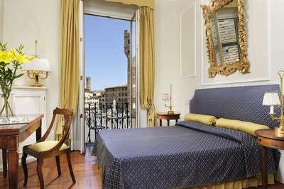 Florence - Piazza della Signoria bedroom