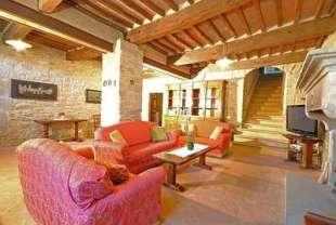 Interior of Villa Ruffignano Cortona Tuscany
