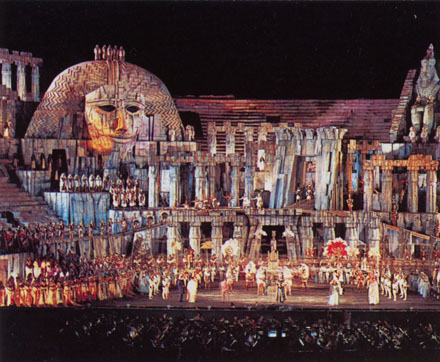 Arena di Verona: Aida opera