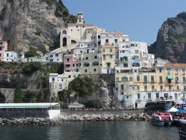 Amalfi from the Sea