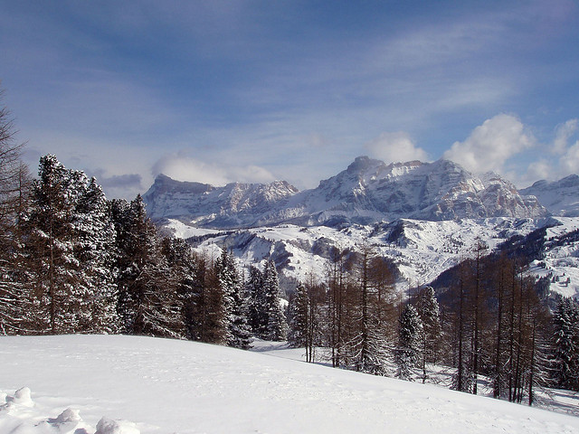 The Dolomites near Corvara in Badia – Image by Conanil