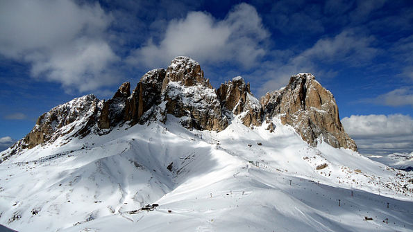 The Dolomites, Italy: Sella Ronda – Image by mxgirl85