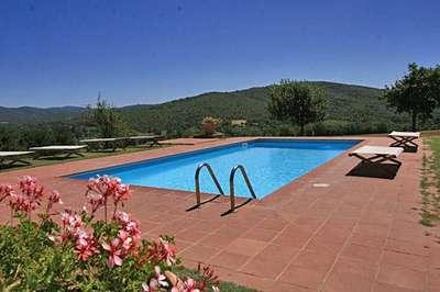 Villa Felciai Chianti  area Florence Italy rental
