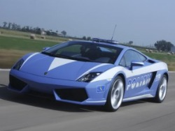 Italian Police Lamborghini Gallardo