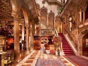 Hotel Danieli's hall Venice