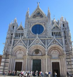Siena Italy. il duomo (the Cathedral)