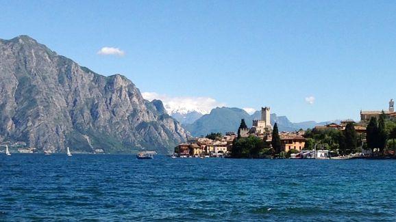 Malcesine on Lake Garda Italy