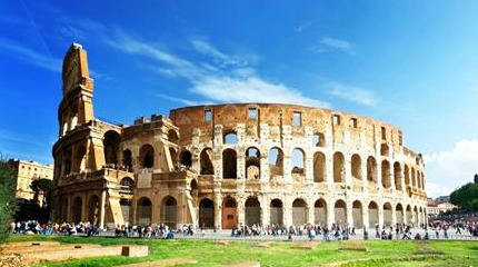 Italy: Rome colosseum