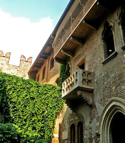 Verona Italy - Juliet house - image by