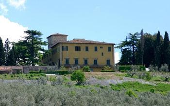 Villa Fiorentina, San Polo in Chianti, Tuscany