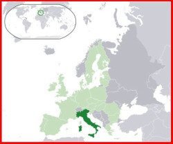 Italy facts: Italy on Europe's map
