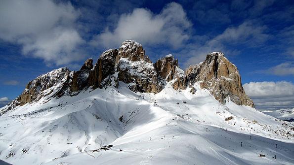 The Dolomites, Italy: Sella Ronda – Image by mxgirl85