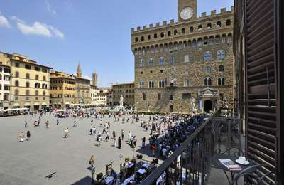 Piazza della Signoria - Florence Italy rental